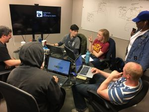 Coding Bootcamp Students in Cleveland OH Classroom