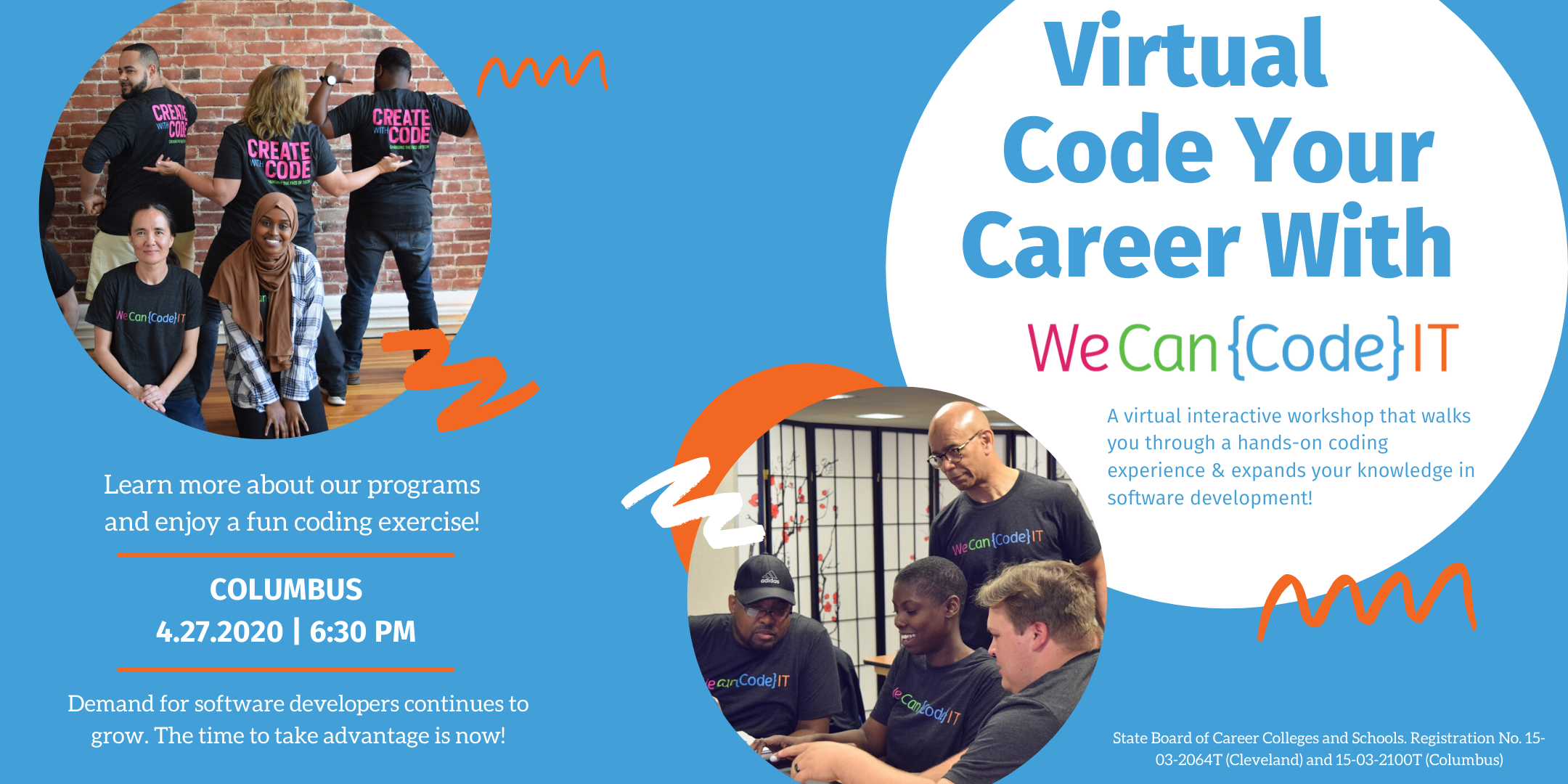 Coding Bootcamp Virtual Workshop