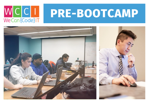 Apply For Pre-Bootcamp Free web and software development