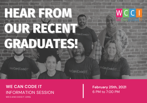 We Can Code IT Info Session