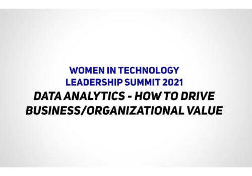 Women in Tech Leadership Summit 2021