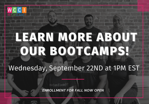 Learn More About Our Full and Part Time Bootcamps