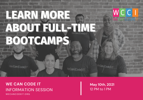 Learn More About Full-Time Bootcamps