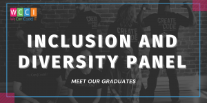 graduate inclusion and diversity panel